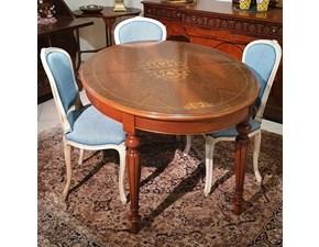 Tavolo Ovale allungabile Artigianale in legno Allungabile