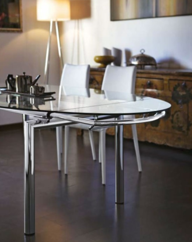Tavolo ovale allungabile pronta consegna tavoli a prezzi for Tavolo ovale in vetro allungabile