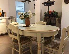 Tavolo ovale allungabile Tavolo borgo antico  Lube cucine a prezzo scontato