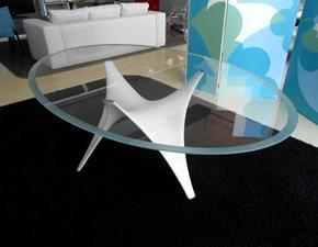 Tavolo ovale con basamento centrale Arc Molteni & c scontato
