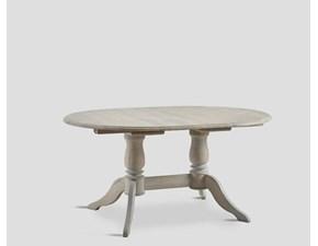 Tavolo ovale con basamento centrale Db005785 Dialma brown scontato