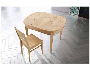 Tavolo ovale in legno Art.tv 502 Artigianale in Offerta Outlet