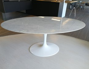 Tavolo ovale in pietra Saarinen made in italy  244x137 Sigerico in Offerta Outlet
