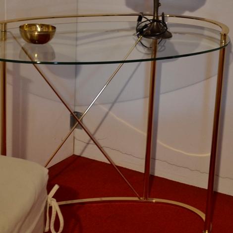 Tavolo ovale vetro e ottone tavoli a prezzi scontati - Tavolo ovale vetro ...