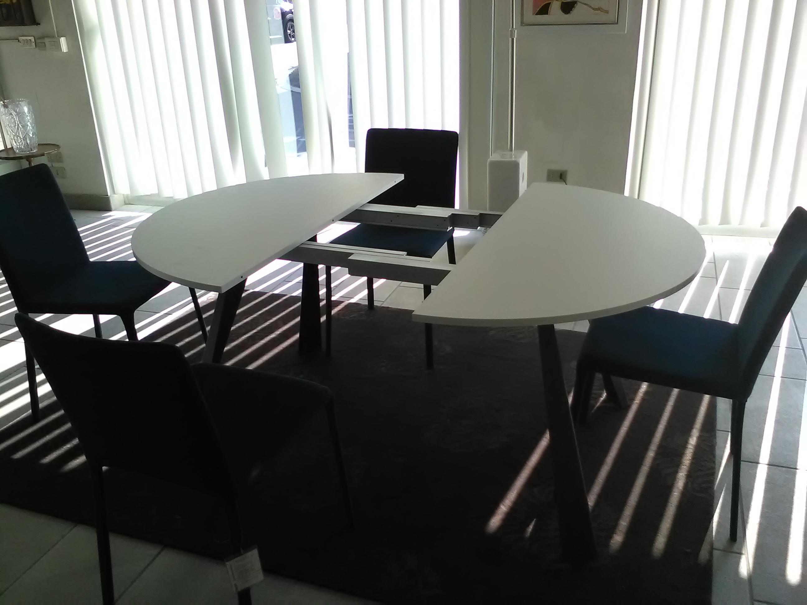 Tavolo rotondo allungabile in offerta tavoli a prezzi scontati - Tavolo rotondo per 5 persone ...