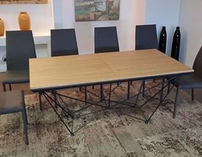 Tavolo Ozzio Fil8 t238  in legno Allungabile PREZZO OUTLET