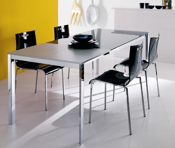 Tavolo ozzio sunny scontato del 57 tavoli a prezzi - Tavolo cristallo allungabile calligaris ...