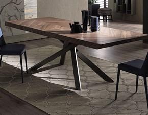 Tavolo Ozzio tavolo 4x4 fisso  Ozzio in legno Fisso