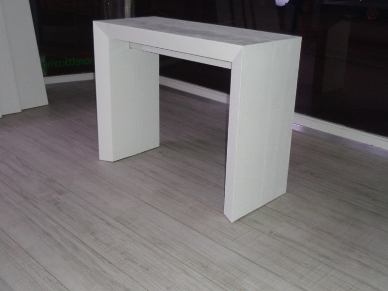 Tavolo ozzio tavolo consolle telescopico allungabile lucky for Consolle design outlet