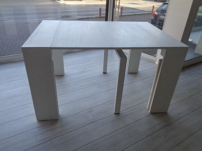 Tavolo ozzio tavolo consolle telescopico allungabile lucky rettangolari consolle allungabili legno - Tavolo consolle allungabile legno ...