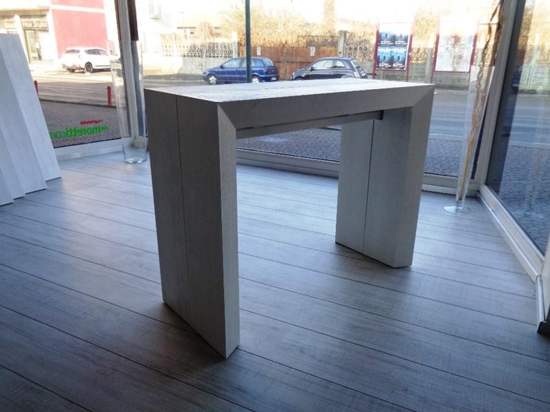 Tavolo ozzio tavolo consolle telescopico allungabile lucky rettangolari consolle allungabili legno - Tavoli rettangolari allungabili in legno ...