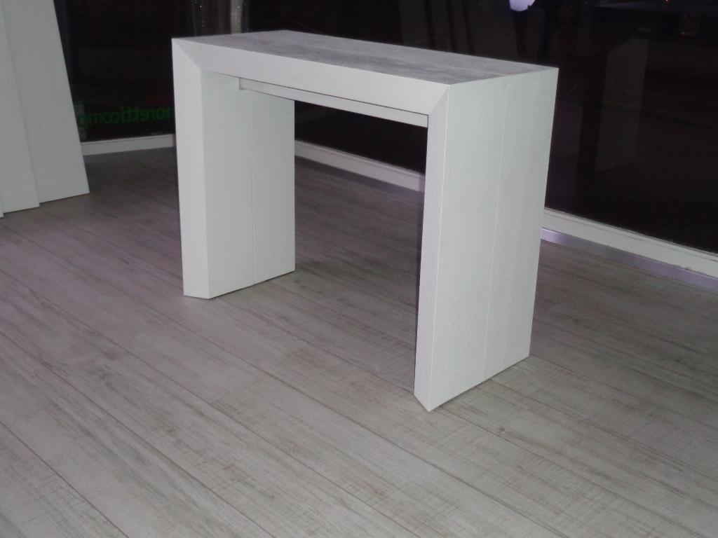 Mobile alto bianco for Tavolo alto usato