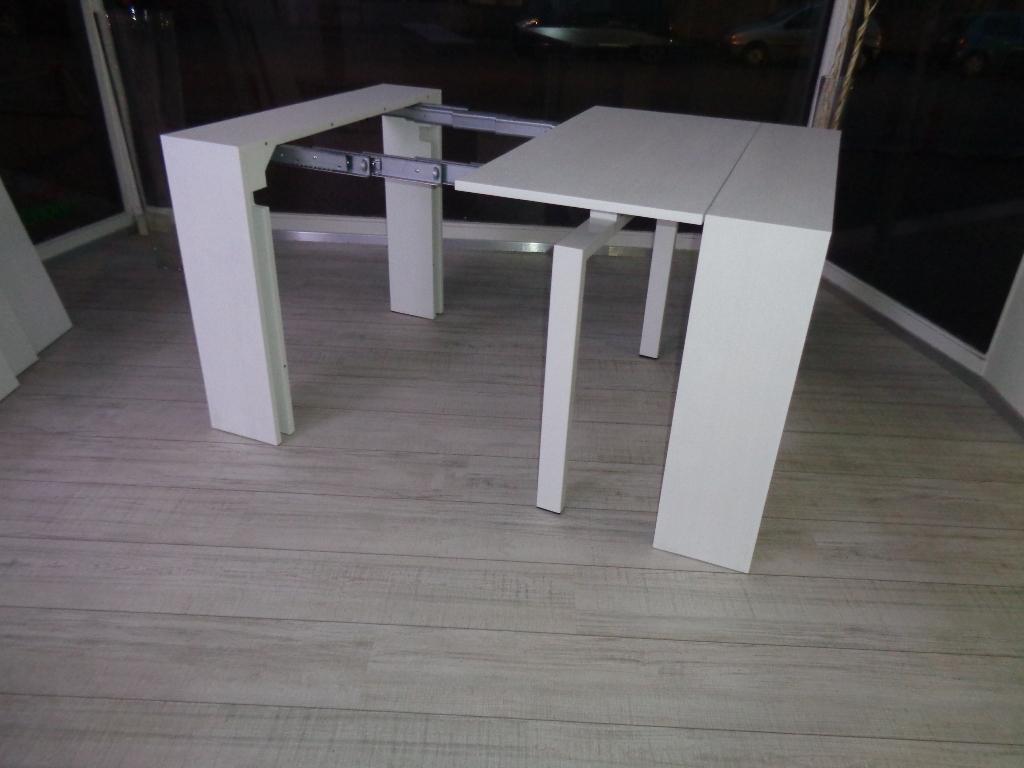 Tavolo ozzio tavolo consolle telescopico allungabile lucky - Consolle tavoli allungabili ...