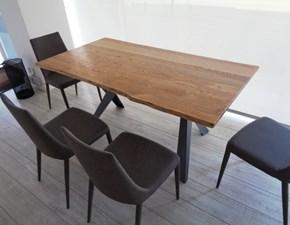 Tavolo Ozzio Tavolo legno massello scortecciato variant  scontato del -42 %