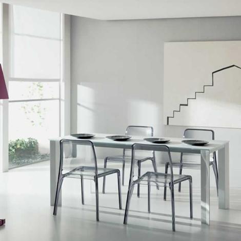Tavolo allungabile modello wing di ozzio tavoli a prezzi for Tavolo allungabile telescopico