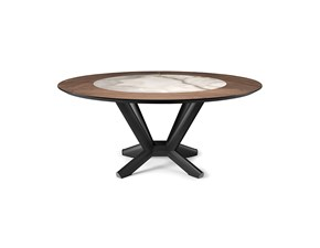 Tavolo Planer ker-wood round Cattelan a prezzo scontato 0%