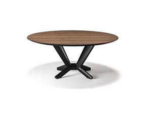Tavolo Planer wood round Cattelan in OFFERTA OUTLET