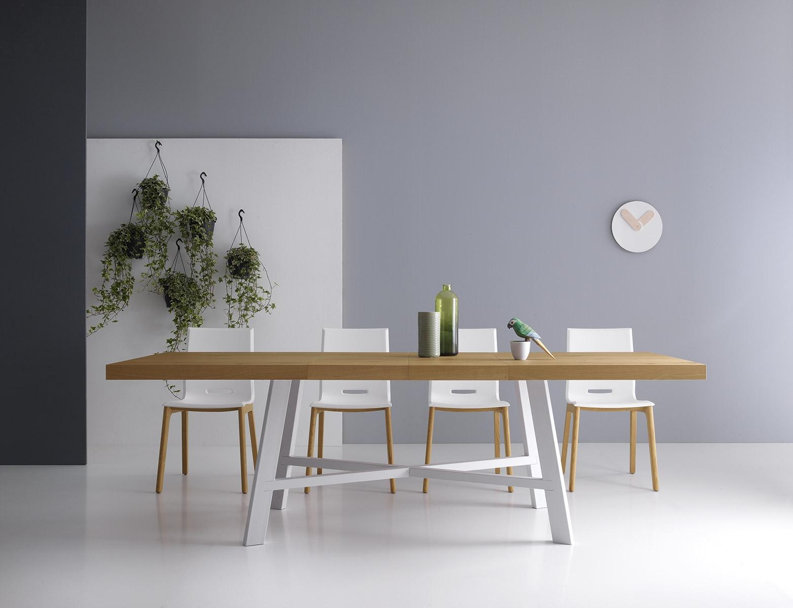 Tavolo point house tavolo in legno rettangolari for Tavoli in legno allungabili