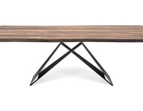 Tavolo Premier wood Cattelan italia in legno Fisso