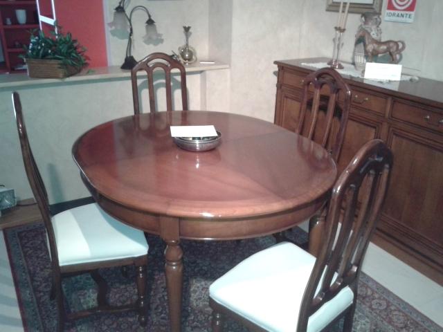 Tavolo prestige tavolo ovale allungabile prestige scontato for Tavoli allungabili ovali moderni