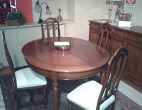 Tavolo ovale allungabile fino a cm. 210