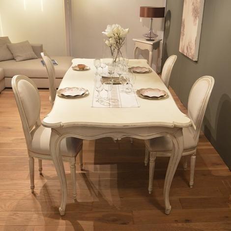 Tavolo provenza in legno massello scontato del 40 tavoli a prezzi scontati - Tavolo in legno massello prezzi ...