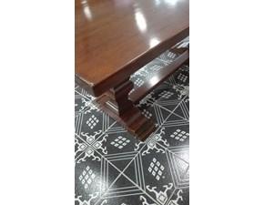 Tavolo quadrato a cavalletto Antico Tiferno scontato
