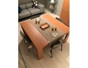 Tavolo quadrato a quattro gambe Dante Tisettanta scontato