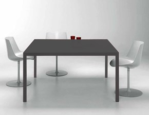 Tavolo quadrato a quattro gambe Moderno Lema scontato