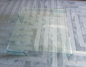Tavolo quadrato a quattro gambe Neutra Fiam italia scontato