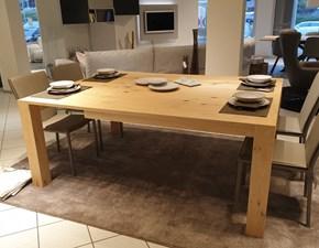 Tavolo quadrato a quattro gambe Quadrato Artigianale scontato