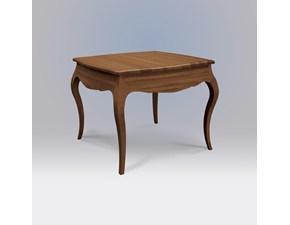 Tavolo quadrato a quattro gambe Tavolo quadrato allungabile legno in stile classico mottes mobili Artigianale scontato
