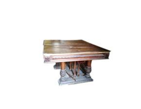 Tavolo quadrato allungabile Antiquariato Outlet etnico a prezzo ribassato