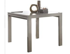 tavolo quadrato allungabile con sedie