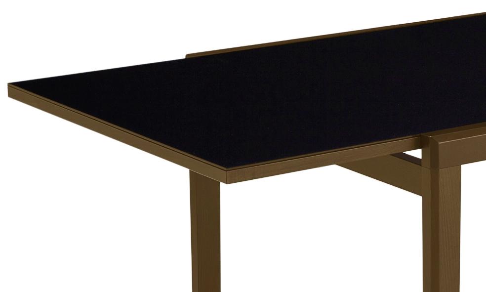 Tavolo quadrato allungabile in legno e vetro anna tavoli for Tavolo quadrato allungabile vetro