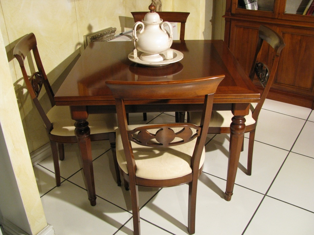 Tavolo quadrato allungabile piombini alfieri legno for Tavolo ufficio quadrato