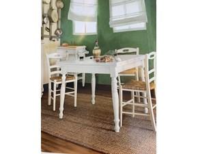 Tavolo quadrato allungabile Tavolo classico Artigianale a prezzo scontato