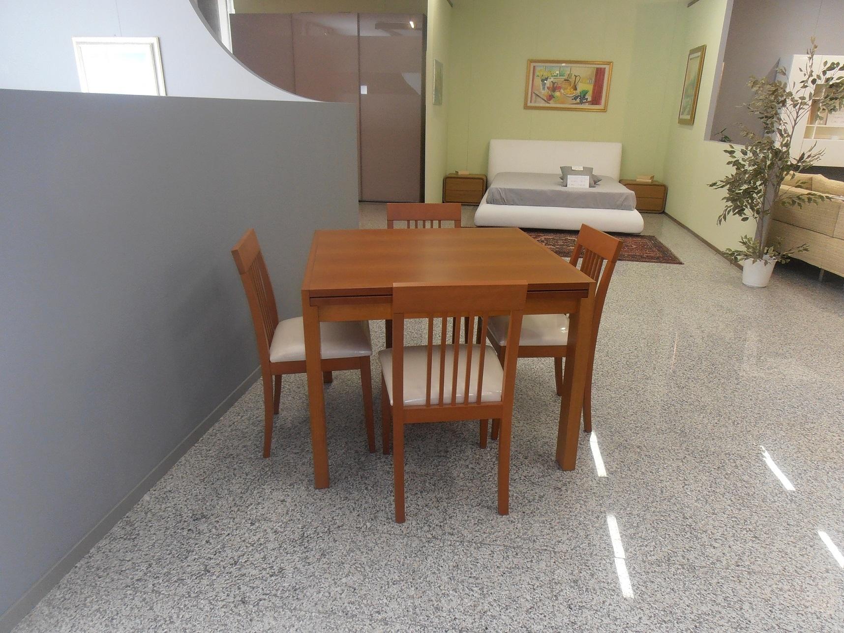 tavolo quadrato ciliegio 4 sedie tavoli a prezzi scontati