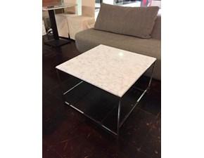 Tavolo quadrato con basamento centrale Simply - tavolino soggiorno Esprit nouveau scontato
