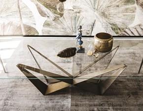 Tavolo quadrato con basamento centrale Skorpio Cattelan italia scontato