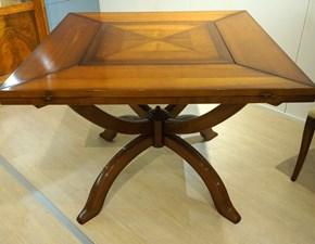 Tavolo quadrato in legno Assi d'asolo Artigianale in Offerta Outlet