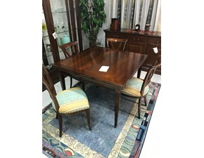 Tavolo quadrato in legno Avolo quadrato Grande arredo in Offerta Outlet