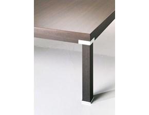 Tavolo quadrato in legno Losanna Halifax in Offerta Outlet