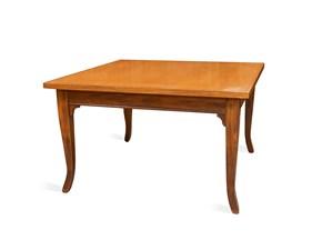 Tavolo quadrato in legno Tavolino Artigianale in Offerta Outlet