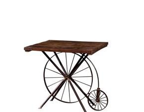 Tavolo quadrato in legno Tavolo bike Nuovi mondi cucine in Offerta Outlet