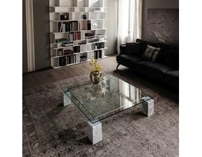 Tavolo quadrato in vetro Dielle Cattelan in Offerta Outlet