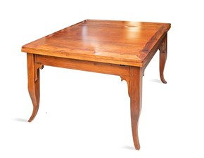 Tavolo Quadro Artigianale in legno Allungabile