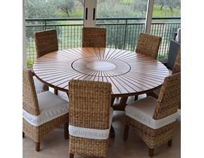 Tavolo Real table La seggiola in legno Fisso