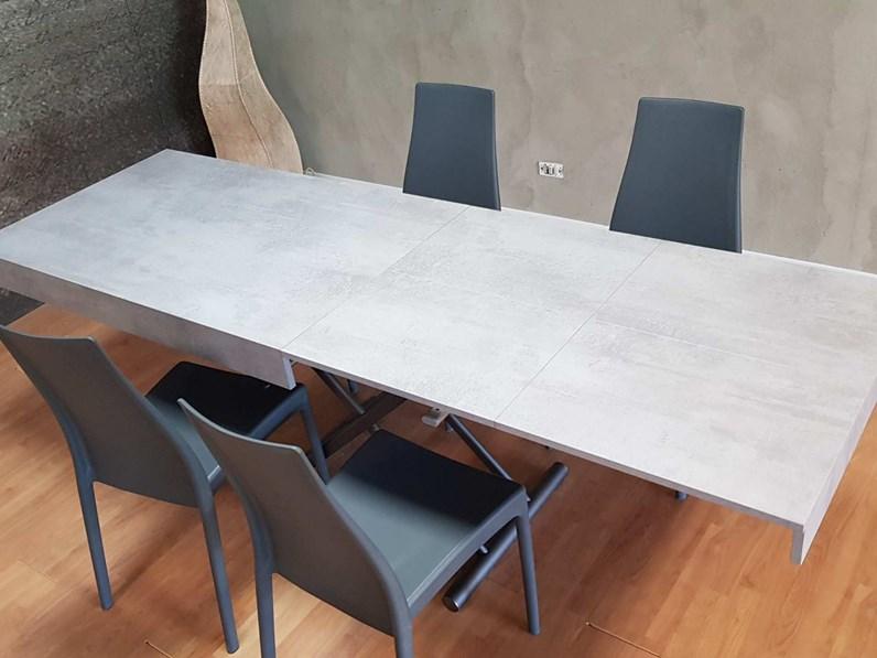 Tavolo rettangolare a cavalletto outlet tavolo for Tavolo design outlet