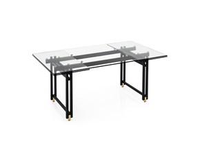 Tavolo rettangolare a quattro gambe Berlin allungabile Calligaris scontato